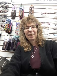 Looney Lynn selfie at her store at the St. Jacob's Farmers Market in 2018